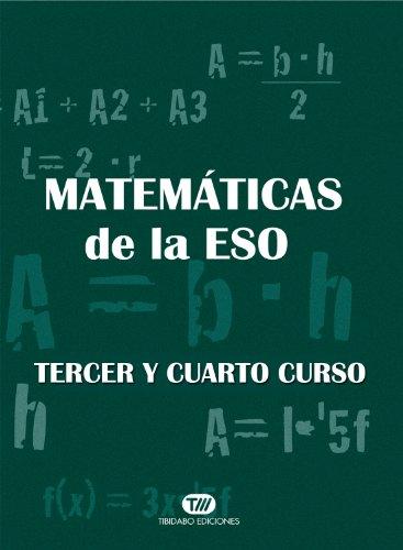 MATEMÁTICAS. TERCERO Y CUARTO DE LA ESO (4 DVD)