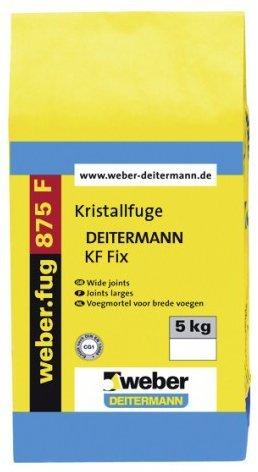 weber.fug 875 F, 5kg - Kristallfuge, schnell