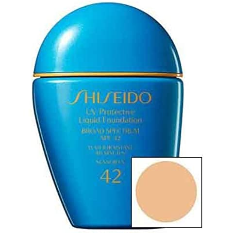 Shiseido Uv Protective Full-coverage Liquid Foundation SPF 42 (SP10 Fair Beige) by Illuminations