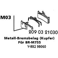 Scheibenbremsbeläge M03 gesintert Deore XT Bremsbelag Scheibenbremse Fahrradbremse