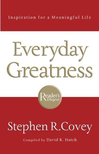 Everyday Greatness Book Pdf