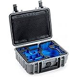 B&W Outdoor Cases Typ 1000 mit DJI Osmo+ / DJI OsmoX3 Inlay, grau - Das Original