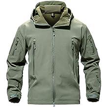 MAGCOMSEN Uomo Tattico Esercito All aperto Cappotto Camouflage Softshell  Giacca Caccia Giacca d0df846bab5a