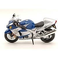 JOY CITY JOY600201 MOTO SUZUKI GSX 1300R SILVER/BLUE 1:12 MODELLINO DIE CAST