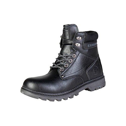 Carrera Jeans Homme Texas_CAM721065 Bottes de Sécurité Noir
