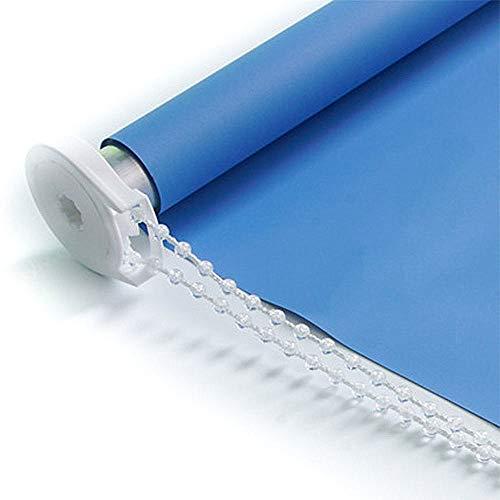 Xsj Rollos, Original Blackout Plissee Papier Schatten Blau, 28