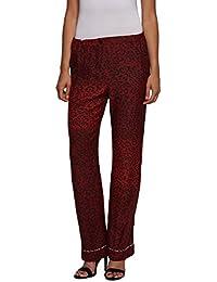 Replay Women's Women's Satin Khaki Pants Modal
