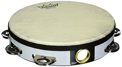 Remo Fiberskyn pandereta de 8–TA-5108–00de percusión pandereta