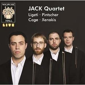Jack Quartet: Ligeti, Pintscher, Cage, Xenakis