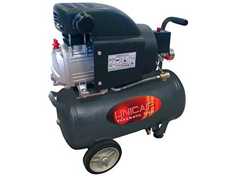 Compresor de aire UNICAIR CD-2/24L. 24 litros 2 HP