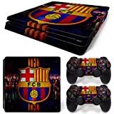 #7: Elton F. C. Barcelona Theme 3M Skin Sticker Cover for PS4 Slim Console and Controllers