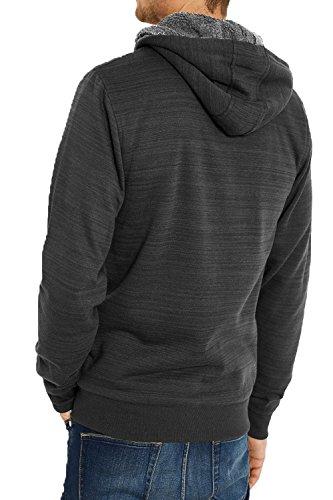 Threadbare -  Felpa con cappuccio  - Felpa - Uomo Charcoal - Dark Grey