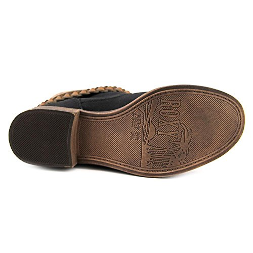 Sintética Preto Boots Skye Roxy Ankle Em De Moda Torno BXwBpO