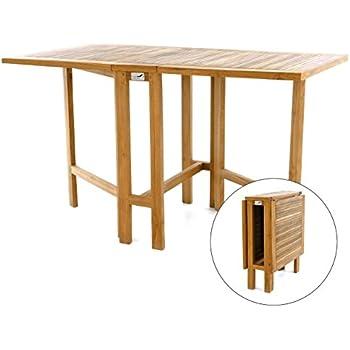 Amazon.de: DIVERO GL05527 Klapptisch Balkontisch Gartentisch ...