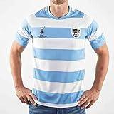 Équipe Argentine, Maillot De Rugby, Coupe du Monde, Édition De La Maison, Nouveau Tissu Brodé, Vêtements De Sport De Butome (Bleu, L)