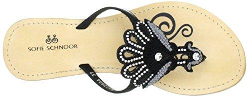 Sofie schnoor s122604 dianetten cuir noir Noir - Noir