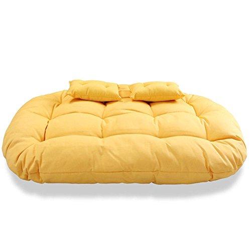 NACHEN Hängende Stuhl Kissen für Zwei Personen schwingt Schwamm Pad Stuhl Nest zurück Kissen, Color 10, 140 * 100 * 25cm