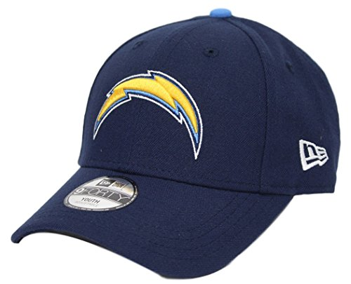 san-diego-chargers-new-era-youth-nfl-9forty-the-league-adjustable-hat-cappello
