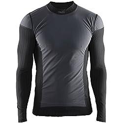 Craft 1904505-9999-5 Camiseta Térmica, Hombre, Negro, M