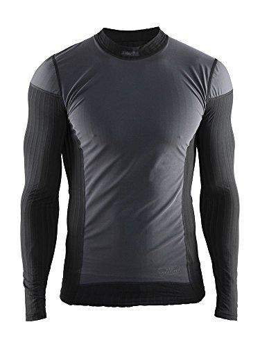Craft Herren Unterwäsche Active Extreme 2.0 WS CN LS Unterhemd, black, M