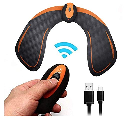 MATEHOM Hips Trainer electroestimulador EMS Vibration Massage Electronic Intelligent Hip Trainer Buttocks Hip Trainer and Hip Toner Helps To Lift, Shape and Fix The Buttocks