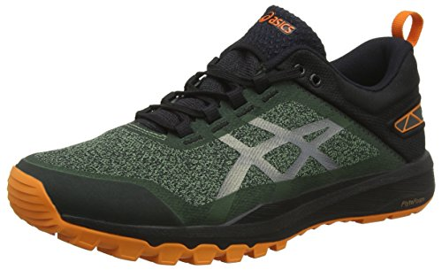 san francisco 60c84 1aa3f ASICS Gecko XT, Scarpe da Running Uomo, Verde (Cedar Green Black 300), 46 EU
