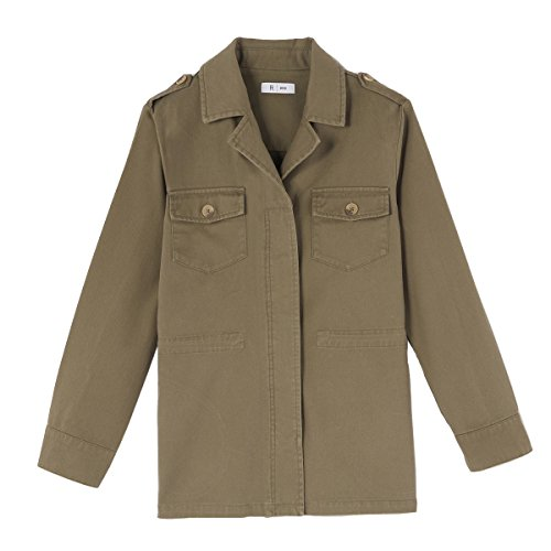 La redoute collections bambina giacca army 10 16 anni taglia 138 verde