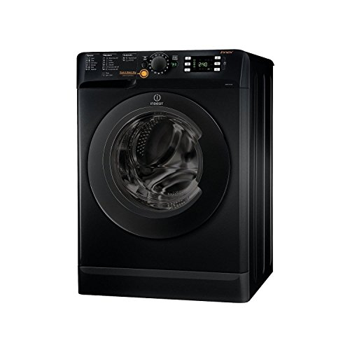 41eupMri8RL. SS500  - Indesit XWDE751480XK A Rated Freestanding Washer Dryer - Black