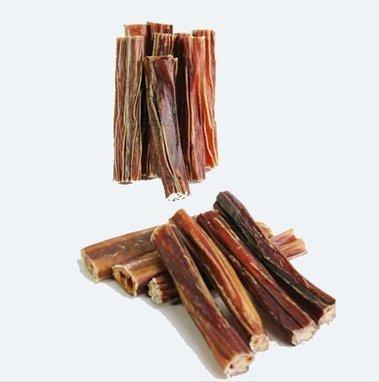 Ochsenziemer Luftgetrocknet ohne Farb & Konservierungsstoffe ca. 12 cm lang (10 Stk.)