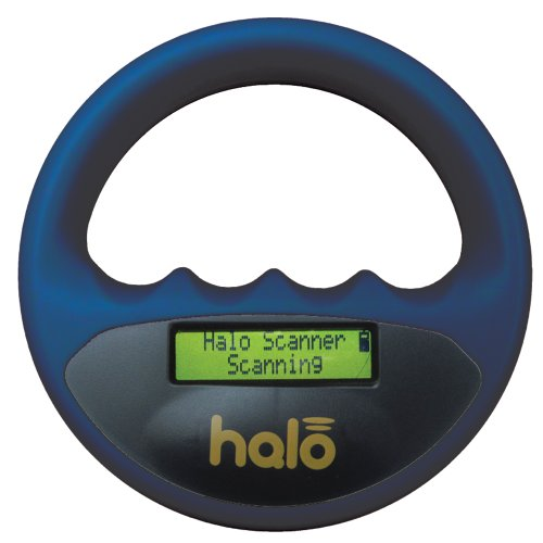 Pet Technology Store Halo Microchip Escáner, Azul