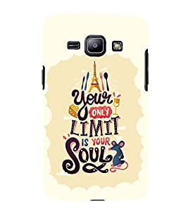 FUSON Our Limit Is Soul 3D Hard Polycarbonate Designer Back Case Cover for Samsung Galaxy Core I8260 :: Samsung Galaxy Core Duos I8262