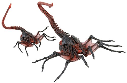 Figura Accion QUEEN FACE HUGGER Alien 20cm de ALIENS Serie 10 NECA U.S.A. 1