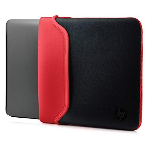 hutzhülle (für Laptops, Tablets, Neopren, 14 Zoll) schwarz /rot ()