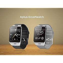 GV18 intelligente Bluetooth 3.0 NFC-Uhr-Telefon-Kamera TF-Karten-Armbanduhr für Smartphones IOS (Teilfunktionen ) iphone 5 / 5S / 6 Android (Full-Funktionen) Samsung S3 / S4 / S5 / S6 / S6 Kante Hinweis 2/3/4 / Kanten HTC M8 / M9 Sony