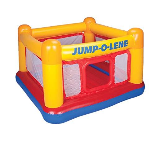 Indoor Outdoor Trampolin Aufblasbarer Spielplatz for Kindertrampoline Marine Ball Pool for Spiele im Innen- und Außenbereich (Farbe : A, Größe : 174x174x112cm)