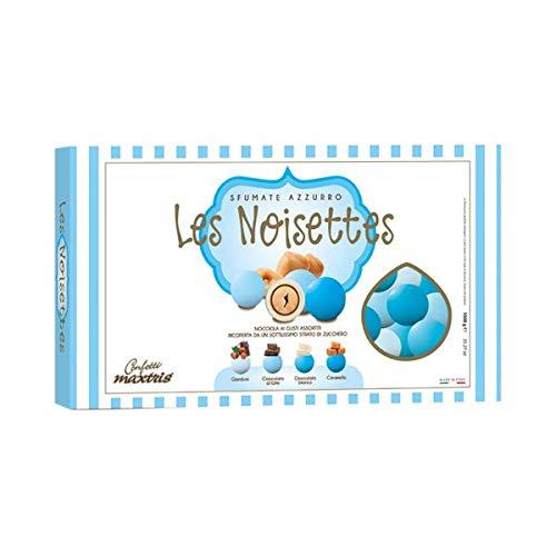 Maxtris   confetti italiani di mandorla   les noisettes azzurro (4 gusti)   1 kg.