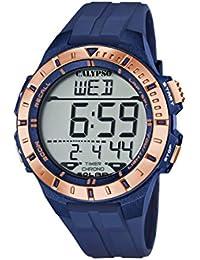 Calypso Reloj Digital para Hombre de Cuarzo con Correa en Plástico K5607/7