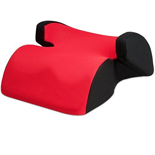 Kindersitzerhöhung Techno Sitzerhöhung Kindersitz Autokindersitz Autositz Kind Sitz Erhöhung - Rot - Gruppe 2/3 (ab 3 bis 12 Jahren)