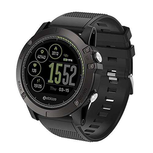 Bulary Zeblaze Vibe 3 HR Smart Watch Smart Tracker di attività 3D UI Record di attività per Tutto Il Giorno 1.22 'IPS Smart Watch Smart Watch Phone Sport Uomini Smartwatch