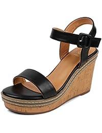 tresmode Womens Fashion Wedge Heel Sandals