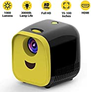 Draxon Mini Projector Support 1080P technology with HDMI, Integrated Media Player Video , Screen Size Up To 15