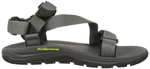 Columbia Big Water, Chaussures Multisport Outdoor Homme Gris (Titanium Mhw/laser Lemon 049)