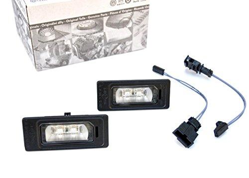 Original Audi LED Kennzeichenleuchten Nachrüstsatz A3 A4 A5 Kennzeichenbeleuchtung 4G0943021