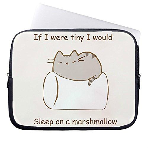chadme Laptop Sleeve/Borsa se fossi Tiny vorrei dormire su un