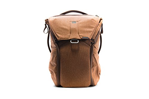 Peak Design Everyday Rucksack 20 l (Tan Nylon Braun - Rucksäcke (Nylon, Braun, Uniform, 400 D, Unisex, 38,1 cm (15 Zoll)