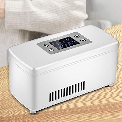 KAHONG Kühlbox Für Tragbare Medikamente 2~8 ℃ Kühlbox Insulin-Kühler Auto-Ladegerät Heimpflege Medizin-Kühlschrank Tragetasche