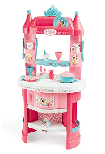 Smoby - 311700 - Disney Princesses - Cuisine pour Enfant - 19 Accessoires