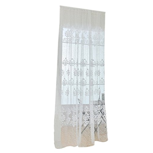 cortina-panel-tul-gasa-flor-clasicas-divisor-decoracion-ventana-habitacion-puerta-blanca