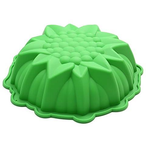 Sunflower Brot Pie Flan Tart Geburtstag Party Kuchen Silikon Mold Backform Backgeschirr 4