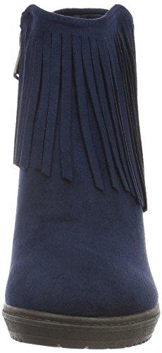 Refresh 62258, Bottines non doublées femme Bleu - Bleu marine
